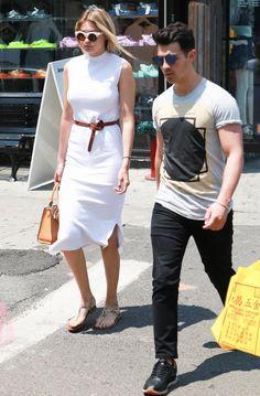 gigi-hadid-joe-jonas-street-style-white-dress