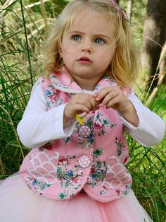 Lamby is the sweetest little fleece-lined vest. Beautifully designed in Oobi-licious prints, your little girl will love the practicality, warmth and style of th Little Diva, Little Girls, What Is Cute, Boho Flower Girl, Realistic Dolls, Baby Vest, Divas, Kids Fashion