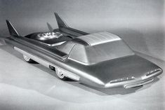 The Ford Nucleon - nuclear powered car concept from 1957