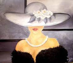 Resultado de imagen de sombreros mujer