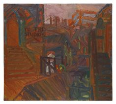 Frank Auerbach, TO THE STUDIOS