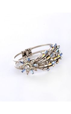 Blue Blazes Shooting Star Bracelet from Sweet Romance for Pinup Couture