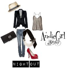 Perfect outfit for the night on the town!