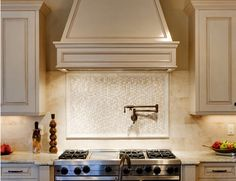 tile backsplash | kitchen tile backsplash with granite countertop