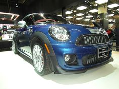 Canadian International Auto Show 2012.  Mini Cooper.  Taken by me with my Samsung WB-700