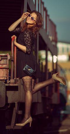 Nylon/ leg fashion