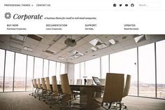 Corporate WordPress Theme by Professional Themes on @creativemarket