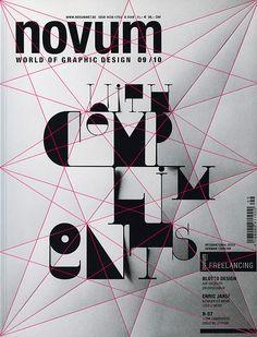 Novum magazine amazing cover design!