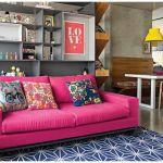 Apartamento cheio de cor
