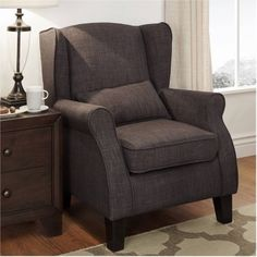 Weston Home Accent Chair with Pillow, Multiple Colors - Walmart.com