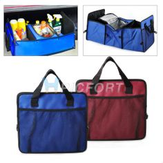 AU $19.99 Trunk Cargo Organizer Foldable Bag incubator lti-function finishing box car
