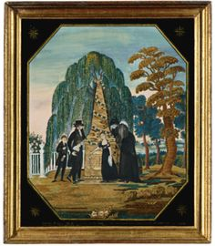 Mourning Picture, S. Isham, probably Hartford, Connecticut, circa 1811