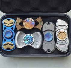Spin all day with these Celtic looking 2 end Fidget Spinners. Which 1 would spin the longest...? Check out our super awesome Dizzy Spinners at www.dizzyspinners.com. Perfect for fidgety hands- The dizzy spinner can get up to a 3+min very smooth and satisfying spin time. Keep your hands busy and your mind clear. Fast delivery and ultimate satisfaction. You will love it.... #dizzyspinners