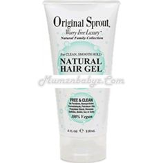 Baby safe hair gel