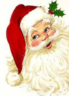 Free Merry Christmas Santa Claus HD Wallpapers for iPad Vintage Christmas Images, Retro Christmas, Vintage Holiday, Christmas Pictures, Christmas Music, Christmas Movies, Merry Christmas Santa, Santa Christmas, Christmas Crafts