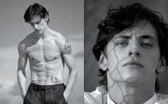 Sergei Polunin in Dances with Wolves, photography: Todd Cole / styling: William Gilchrist. TANK spring 2013.