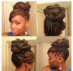 Surprising 1000 Images About Hair On Pinterest Crochet Braids Box Braids Short Hairstyles Gunalazisus