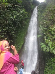 air terjun tujuh tingkat, first level