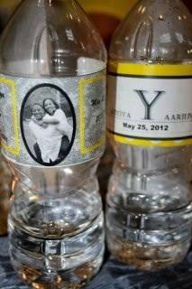 Water Bottle Labels - Wedding Day - Drink up!