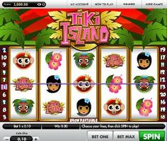 Tiki Island slot machine is a 5 line 20 reel slots game with a progressive jackpot from Gamesys. This video slot machine comes with bright graphics and cute looking colourful fish. The slot game is based on the Disney movie Finding Nemo theme. Tiki Party, Tiki Room, Polynesian Culture, Colorful Fish, Finding Nemo, Stone Carving, Slot Machine, Disney Movies, Art Forms