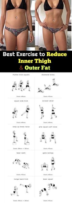 best way to lose leg fat without gaining muscle