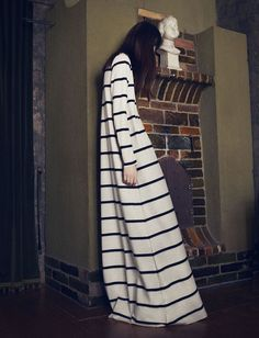 Breton Striped Maxi |  Samuji Fall 2014