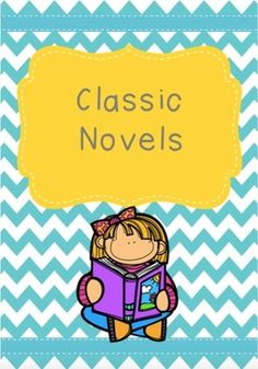 This resource contains a list of 50 classic children's novels and written activities that can be used with all of them. Children must choose one novel and complete three written assignments based on that novel.This resource is a great way of encouraging children to choose reading material that is outside of their favoured genre. First Novel, Reading Material, The Outsiders, Encouragement, Novels, Activities, Children, Classic, Kids