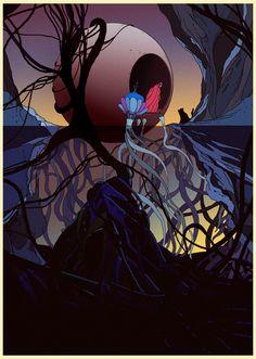 Various work 08 by Kilian Eng Kilian Eng, 70s Sci Fi Art, Vintage Cartoon, Fantastic Art, Awesome, Comic Book Artists, Digital Illustration, Painting & Drawing, Illustrators