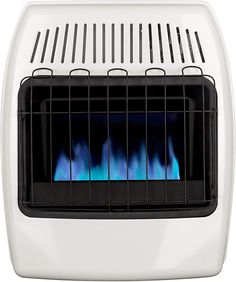 Dyna-Glo 20,000 BTU Natural Gas Blue Flame Vent Free Wall Heater, White Portable Tent, Portable Heater, Natural Gas Garage Heater, Tent Heater, Best Space Heater, Outdoor Heaters, Blue Flames, Central Heating, Heating Systems