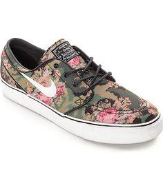 f5070d291ff55a Nike SB Zoom Stefan Janoski PR OG Digi Floral QS Skate Shoes