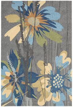 Make your outdoors as fabulous as your interiors with this exciting collection of indoor/outdoor rugs. Featuring gorgeous oversized wildflower prints and spectacular color palettes this collection enchants, uplifts and lends an easy elegance to its...