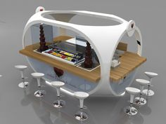 food kiosk design - Google Search