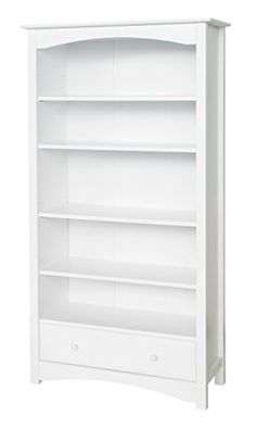 The MDB Bookcase provides five adjustable-height shelves and one smooth and spacious drawer. Keeping your child's favorite books and toys handy, the bookcase brings timeless charm to his or her room with its classic look and gentle curves. The MDB Bookcase is available in four rich and... more details available at https://furniture.bestselleroutlets.com/home-office-furniture/bookcases/product-review-for-davinci-mdb-book-case-white/
