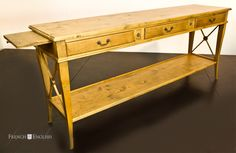 AVIGNON 3 DRAWER CROSS CONSOLE - From $1195-$1495
