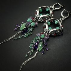 This page has some really gorgeous pieces. I'm especially drooling over these earrings.