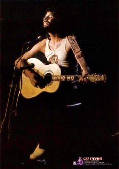 Cat Stevens, Beautiful Soul, Music Artists, Little Boys, Peace And Love, Singer, Cats, Islam, Guitar