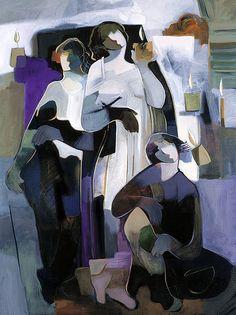'Enlightenment' - Hessam Abrishami (b. 1951)