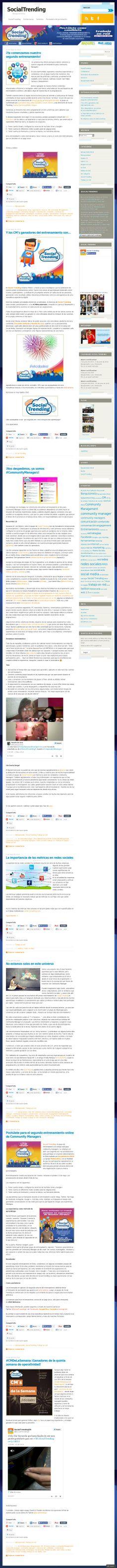 No te pierdas nada de nuestro #Entrenamiento, faltan pocas semanas para que los participantes empiecen a crear contenido para nuestro blog 'socialtrending.com.ve'