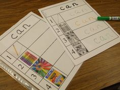 practice writing sight words