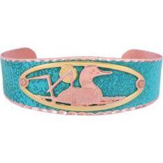 Loon Blue Patina Bracelet