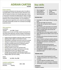 Professional Teacher Resume Template PDF Printable Download , How to Make a Good Teacher Resume Template , There are many kinds of teacher resume template that you have to understand. Each teacher has their different style on making resume template. In addi...