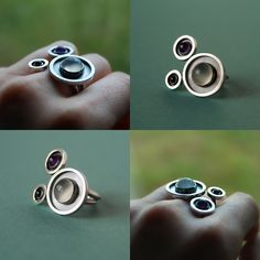 This ring was challenging and so much fun to make!  Makes me want a proper torch!