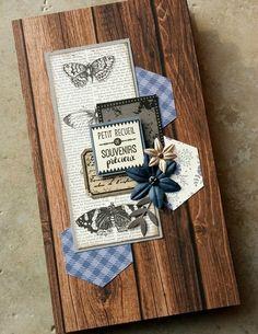 """Album """"Petit recueil de souvenirs précieux"""" - Le scrap de Marianne38"""