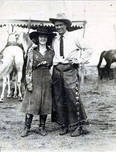 Bonnie McCarroll & Tris Speaker Unknown photographer, 1921