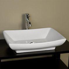 Mollie Rectangular Vessel Sink $140