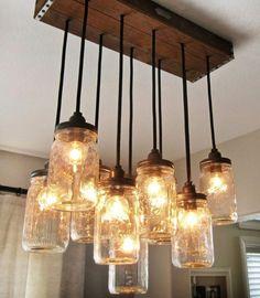 20 Ideen für kreative handgemachte Lampen - http://wohnideenn.de/lampen/11/kreative-handgemachte-lampen.html #Lampen