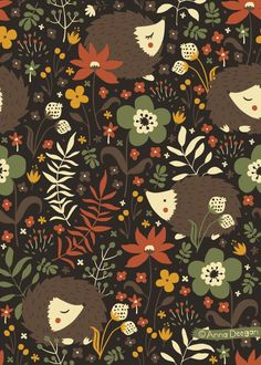 anna deegan | Cute Hedgehogs by Anna Deegan, via Behance