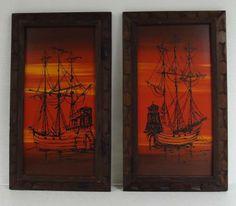 Nautical Spanish Galleon Ship wall art