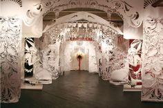 La Boca del Lobo, Alison Corrie, Black Floor Gallery, Philadelphie, 2006