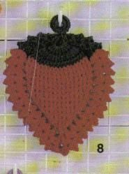 free crochet strawberry potholder pattern